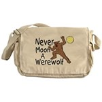 Moon A Werewolf Messenger Bag