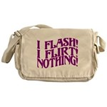 Flirty Flasher Messenger Bag