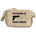 Serious Fragging Messenger Bag