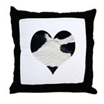 Cow Lover Throw Pillow