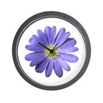 Purple Daisy Wall Clock