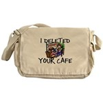 Deleted Cafe Messenger Bag