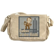Deco Father of the Bride Messenger Bag