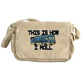 How I Roll RV Messenger Bag