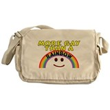 Gay Rainbow Messenger Bag