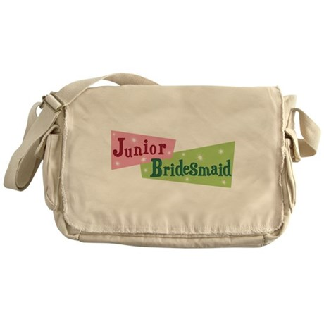 Retro Junior Bridesmaid Messenger Bag
