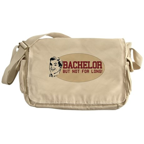 Hip Retro Vintage Bachelor Messenger Bag