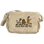 Veggie Runs Messenger Bag