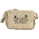 Archers On Point Messenger Bag
