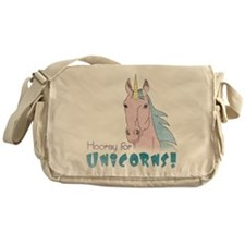 Hooray for Unicorns Messenger Bag