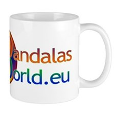 Mandala's World Logo Small Mug