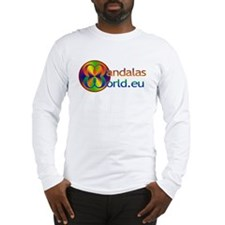 Mandala's World Logo Long Sleeve T-Shirt