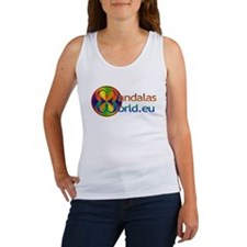 Mandala's World Logo Women's Tank Top