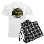 Trout Fishing Men's Light Pajamas