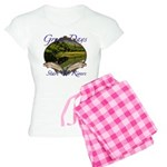 Trout Fishing Women's Light Pajamas