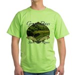 Trout Fishing Green T-Shirt
