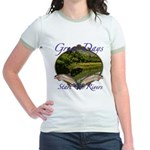 Trout Fishing Jr. Ringer T-Shirt