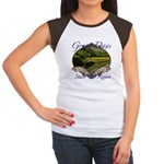 Trout Fishing Women's Cap Sleeve T-Shirt