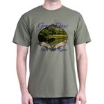 Trout Fishing Dark T-Shirt
