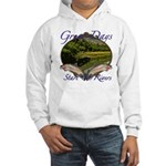 Trout Fishing Hooded Sweatshirt