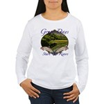 Trout Fishing Women's Long Sleeve T-Shirt