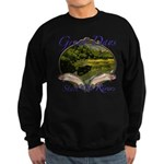Trout Fishing Sweatshirt (dark)