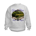 Trout Fishing Kids Sweatshirt