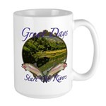 Trout Fishing Large Mug