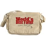 World's Best Farter (oops.. FATHER!) Messenger Bag
