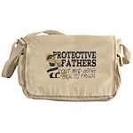 Protective Fathers Messenger Bag
