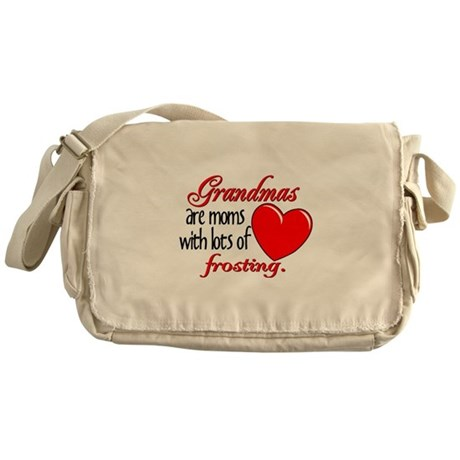 Grandma's Frosting Messenger Bag