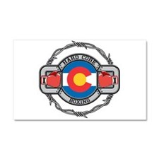 Colorado Boxing Car Magnet 20 x 12