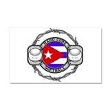 Cuba Softball Car Magnet 20 x 12