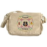Future Firefighter Pastel Messenger Bag