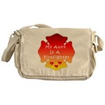 Firefighter Aunt Messenger Bag