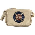 Firefighter USA Messenger Bag