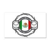 Mexico Softball Car Magnet 20 x 12