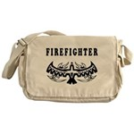 Firefighter Tattoos Messenger Bag