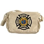 Firefighter Energy Planet Messenger Bag