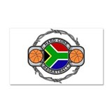 South Africa Basketball Car Magnet 20 x 12