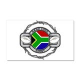 South Africa Rugby Car Magnet 20 x 12