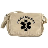 Paramedic Star Of Life Messenger Bag