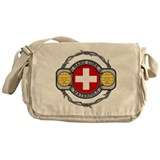 Switzerland Water Polo Messenger Bag
