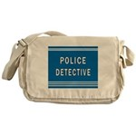 Police Detective Blues Messenger Bag