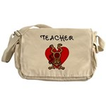 Teachers Love Kids Messenger Bag