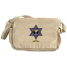 Jewish Star Messenger Bag
