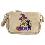 Halloween Ghost Messenger Bag