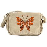 Butterfly Tattoo Messenger Bag