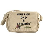 World's Best Dad Messenger Bag