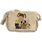 Puppy Dog Friends Messenger Bag